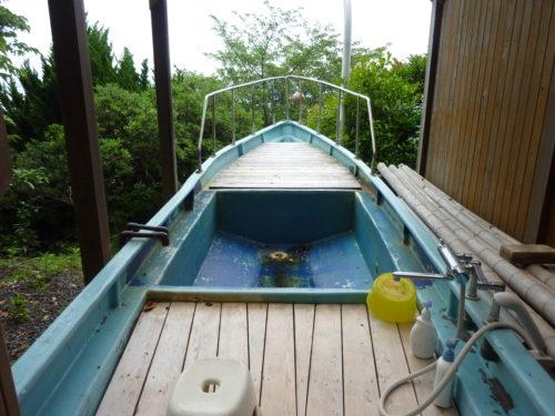 船の露天風呂(風呂)