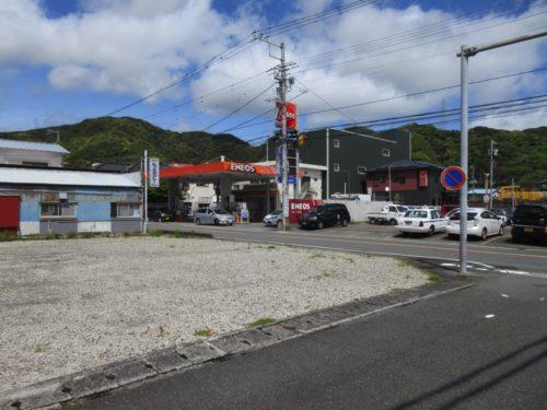 <伊豆下田>駅まで600mバス通りに面する陽当たり良好な平地(A号地)【売・土地】